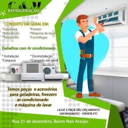 C & m refrigeração