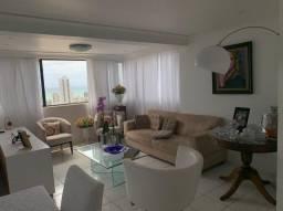 Apartamento em Boa Viagem, lindo, com 3 quartos, 2 vagas e vista mar.