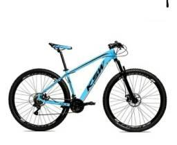 Bicicleta MTB Alum 29 KSW Shimano 27 Vel - Freio a disco Hidráulico