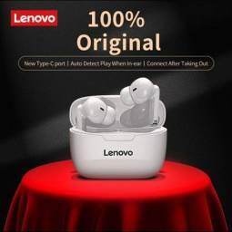Fone de Ouvido Lenovo xt90 Branco Novo