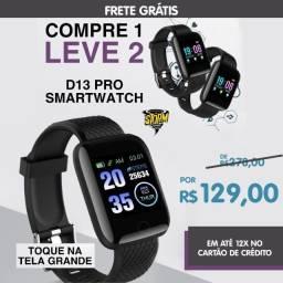Relogio top  D13  PRO smartwatch compra um leva dois