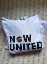 moletom now united com orelhinha (tamanho: P)