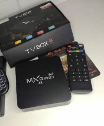 TV BOX 4K NOVO (COM ENTREGA).