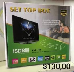 Conversor TV set top box