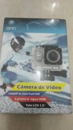 Câmera de vídeo a prova d'água