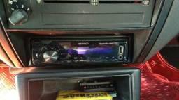 Rádio Kenwood + kit 2 vias Bravox