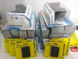Controles,Cabos e memoricard de PS2!!!