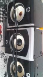 Vende se 3 caixas de som para home thearter