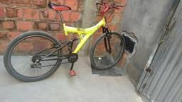 Bicicleta com mola
