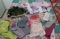 Lote roupas de menina tamanho 1
