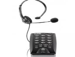 Telefone Headset Telemarketing Telefonista Elgin 6000 Top (Entrega gratis) Telefone Headse