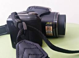 Câmera nikon coolpix l330 20.2 mp zoom 26x