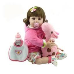 Boneca Bebe Reborn Silicone Alta qualidade M10