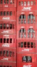 Reciclagem garrafas faço doação