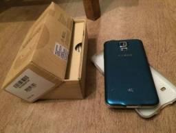 Samsung Galaxy S5 4g Desbloqueado Na Caixa Celular Exelente