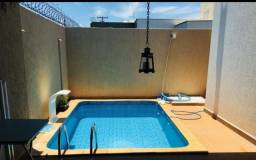 Belissima casa Condomínio Recanto das Palmeiras, com piscina acabamento de primeira