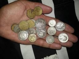 20 moedas antigas!!