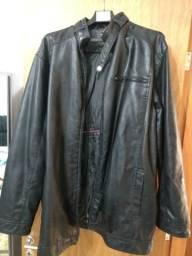Jaqueta de couro XG tamanho 58