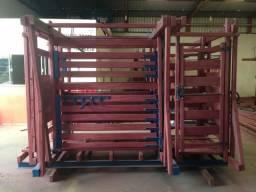 Venda de Brets, balanças, troncos, barras de gado