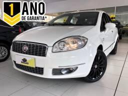 Fiat LINEA ABSOLUTE 1.9/1.8 Flex Dualogic 4p - Branco - 2014 - 2014