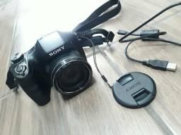 Câmera Sony Cyber Shot Dsc H300 Zoom 35x Tela 3.0 + Cartão