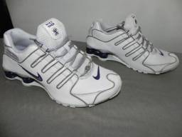 55dd09ba7e Nike Shox NZ 38 Branco Roxo
