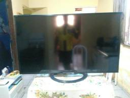 Vendo tv 50 poléga led com display queimado