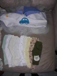 Vendo lote de roupa para neném menino 0 a 3 meses