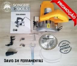 Serra Mármore 1200W C/ Disco Sh Profissional 110V Nova