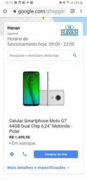 Vendo celular Moto G7 Plus 64gb top