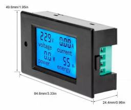 Medidor Digital Ac 80~260v Wattímetro, Amperímetro, Voltímetro, kw consumo
