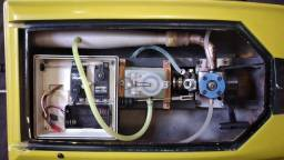 Lancha  glow motor 15