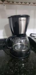 Cafeteira Britânia CP30 Inox Preta (Serve até 30 cafezinhos)