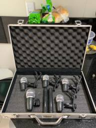 Microfone de bateria