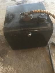 Kit hidráulico carreta com bomba,tomada e chave de acionar comp