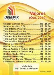 Massa Corrida PVA 25Kg- R$ 45,00