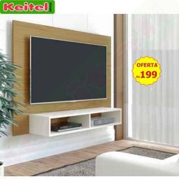 Painel P/ Tv Flash - Freijó Off White