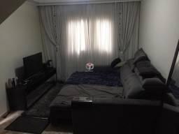 Sobrado para aluguel, 3 quartos, 2 vagas, Vila Linda - Santo André/SP