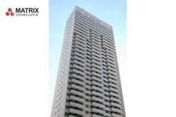 Apartamento com 1 dormitório para alugar, 42 m² por R$ 1.600/mês - Centro - Curitiba/PR