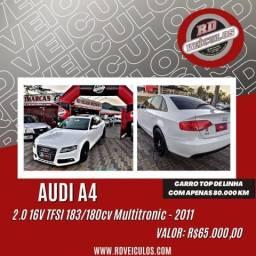 Audi A4 2.0 16V TFSI 183/180cv Multitronic 2011 Gasolina