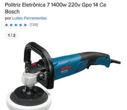 Politriz Eletrônica 7 1400w 220v Gpo 14 Ce Bosch