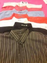 Camisas sociais tamanho 8