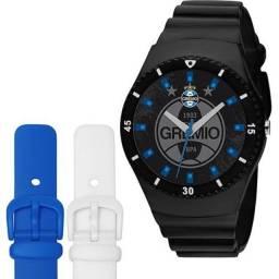 Relógio Do Grêmio Troca Pulseiras - Technos - Wr 100m - Show
