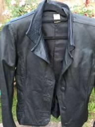 Jaquetas de couro verdadeiro
