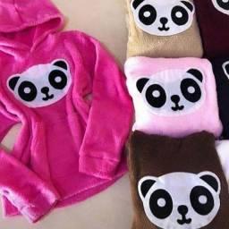 Casaco Panda preto