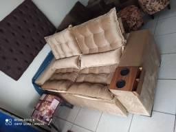 ?a loja da fábrica (sofá retratil e reclinável)
