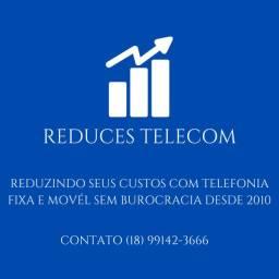 Serviços de redução de custos com telefonia