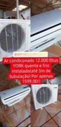 ar condicionado 12.000 btus + instalação!