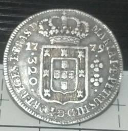 Moeda antiga de prata