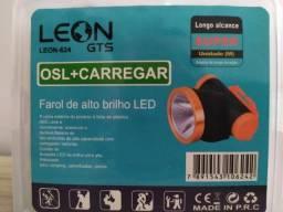 Lanterna de Cabeça Led Recarregável Leon-624